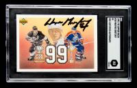 Wayne Gretzky Signed  1991-92 Upper Deck #38 99 (SGC Encapsulated) at PristineAuction.com