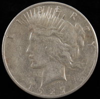 1927-S $1 Peace Silver Dollar at PristineAuction.com