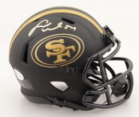 Fred Warner Signed 49ers Eclipse Alternate Speed Mini Helmet (Beckett COA) at PristineAuction.com