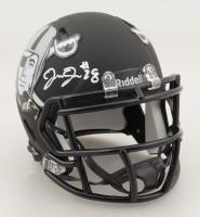 Josh Jacobs Signed Raiders Speed Mini Helmet (Beckett Hologram & Jacobs Hologram) at PristineAuction.com