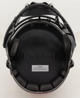 Jim Kelly, Thurman Thomas & Andre Reed Signed Bills Full-Size Eclipse Alternate Speed Helmet (JSA COA) at PristineAuction.com