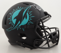 Tua Tagovailoa Signed Dolphins Full-Size Eclipse Alternate Speed Helmet (Fanatics Hologram) (See Description) at PristineAuction.com