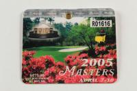 2005 Masters Tournament Golf Badge (See Description) at PristineAuction.com