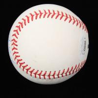 "Edgar Marinez Signed OML Baseball Inscribed ""HOF 19"" (JSA COA) at PristineAuction.com"