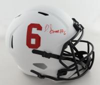 DeVonta Smith Signed Alabama Crimson Tide Full-Size Lunar Eclipse Alternate Speed Helmet (Beckett Hologram) at PristineAuction.com