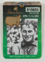 2002 Masters Tournament Golf Badge (See Description) at PristineAuction.com