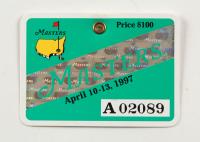 1997 Masters Tournament Golf Badge at PristineAuction.com