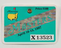 1997 Masters Tournament Golf Badge (See Description) at PristineAuction.com