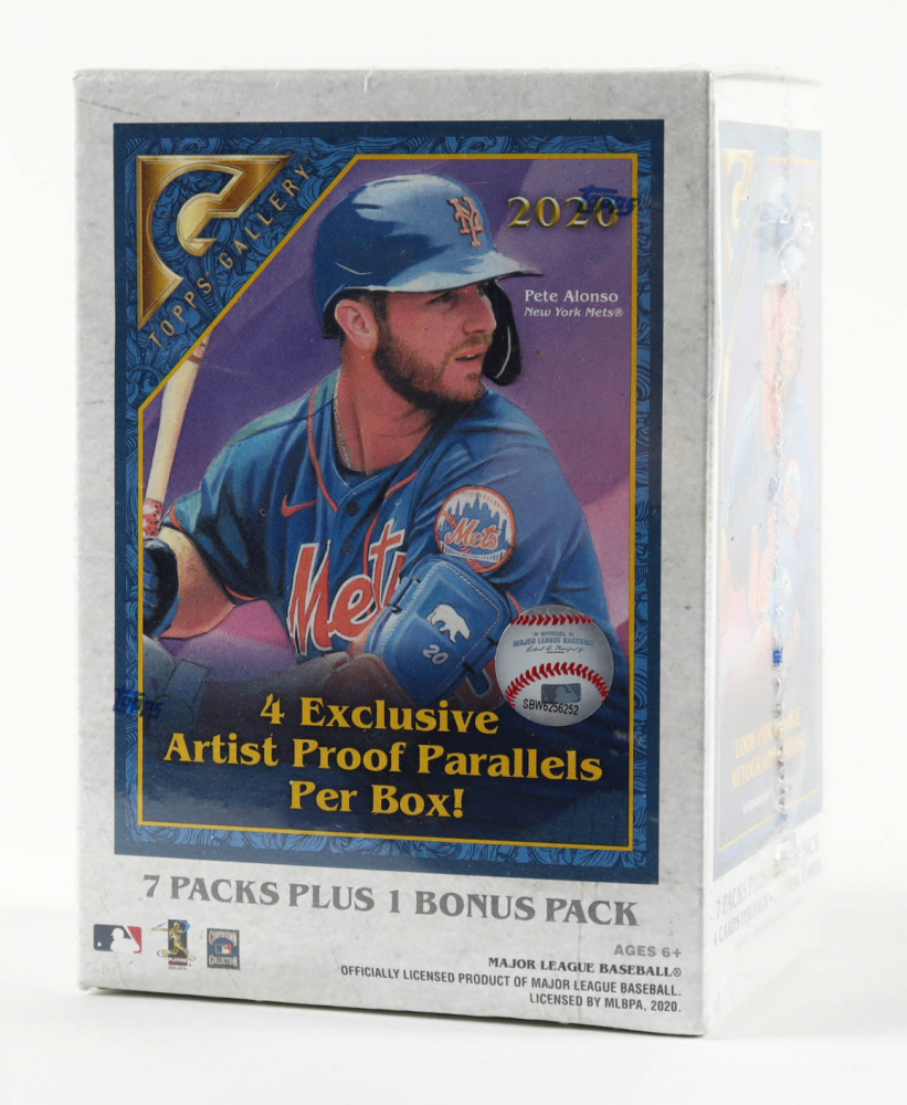 2020 Topps Gallery Baseball Blaster Box with (8) Packs at PristineAuction.com