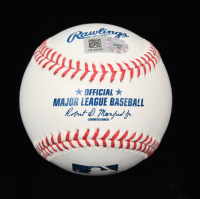 "Phil Niekro Signed OML Baseball Inscribed ""H.O.F.-97"" (MLB Hologram) at PristineAuction.com"