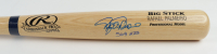 "Rafael Palmeiro Signed Rawlings Player Model Baseball Bat Inscribed ""569 HRs"" (JSA COA) at PristineAuction.com"