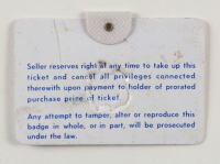 1966 Masters Tournament Golf Badge (See Description) at PristineAuction.com