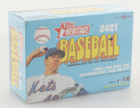 2021 Topps Heritage Baseball Mega Box (Target) with (17) Packs at PristineAuction.com