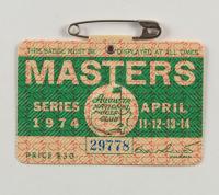 1974 Masters Tournament Golf Badge (See Description) at PristineAuction.com