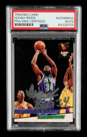 Isaiah Rider Signed 1993-94 Ultra #292 RC (PSA Encapsulated) at PristineAuction.com
