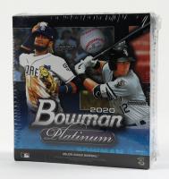 2020 Bowman Platinum Baseball Mega Box with (8) Packs at PristineAuction.com