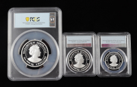 Set of (3) 2021-P Australia Year of the Ox Coin Silver Proof - First Strike (PCGS PR70 Deep Cameo) at PristineAuction.com