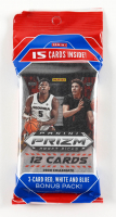 2020-21 Panini Prizm Collegiate Prizm Draft Picks Basketball Cello Pack with (15) Cards at PristineAuction.com