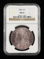 1888 Morgan Silver Dollar (NGC MS63) (Toned) at PristineAuction.com