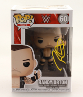 Randy Orton Signed WWE #60 Funko Pop! Vinyl Figure (JSA Hologram) at PristineAuction.com