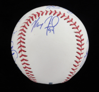 2019 Braves OML Baseball Team-Signed by (10) with Freddie Freeman, Max Fried, Ozzie Albies (JSA ALOA) at PristineAuction.com