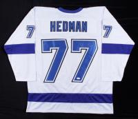 Victor Hedman Signed Jersey (JSA COA) (See Description) at PristineAuction.com