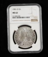 1901-O Morgan Silver Dollar (NGC MS62) at PristineAuction.com