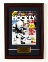 Wayne Gretzky Signed 1992 Inside Hockey 13x18 Custom Framed Magazine Display (JSA COA) at PristineAuction.com