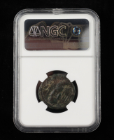 Augustus (27 B.C. - 14 A.D.) Roman Empire, Posthumous under Tiberius Ancient Coin (NGC Fine) at PristineAuction.com