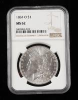 1884-O Morgan Silver Dollar (NGC MS62) at PristineAuction.com