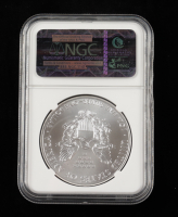 2014 American Silver Eagle $1 One Dollar Coin - First Releases, Eagle Label (NGC MS70) at PristineAuction.com