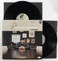 "Richard Thompson Signed ""13 Rivers"" Vinyl Record Album (AutographCOA COA) at PristineAuction.com"