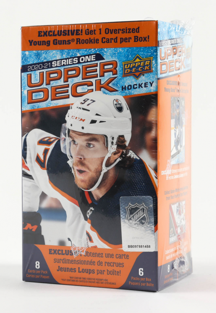 2020-21 Upper Deck Series 1 Hockey Blaster Box with (6) Packs at PristineAuction.com