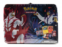 2021 Pokemon Collector Chest Spring: Single Strike Tepig/Rapid Strike Shinx with (5) Booster Packs at PristineAuction.com
