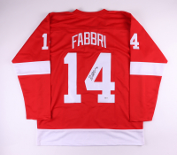 Robby Fabbri Signed Jersey (Beckett COA) at PristineAuction.com
