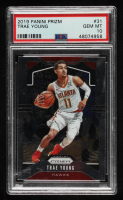Trae Young 2019-20 Panini Prizm #31 (PSA 10) at PristineAuction.com