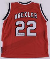 Clyde Drexler Signed Jersey (PSA COA) at PristineAuction.com