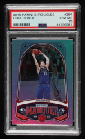 Luka Doncic 2019-20 Panini Chronicles #254 / Marquee (PSA 10) at PristineAuction.com
