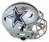 Emmitt Smith Signed Cowboys Full-Size Authentic On-Field SpeedFlex Helmet (Beckett Hologram & Prova Hologram) at PristineAuction.com