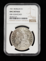 1921 Morgan Silver Dollar (NGC UNC Details) at PristineAuction.com