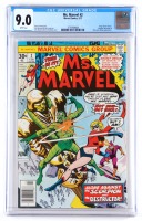 """1977 """"Ms. Marvel"""" Issue #2 Marvel Comic Book (CGC 9.0) at PristineAuction.com"""