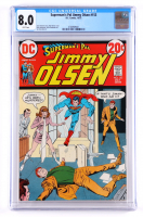 """1972 """"Superman's Pal Jimmy"""" Issue #153 DC Comic Book (CGC 8.0) at PristineAuction.com"""