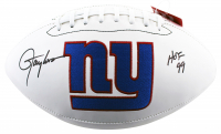 """Lawrence Taylor Signed Giants Logo Football Inscribed """"HOF 99"""" (Beckett COA) at PristineAuction.com"""
