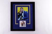 John Legend Signed 18.25x22.25 Custom Framed Photo Display (AutographCOA Hologram) (See Description) at PristineAuction.com