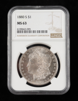 1880-S Morgan Silver Dollar (NGC MS63) at PristineAuction.com