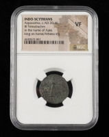 Aspavarma (c.A.D. 20-46) Indo-Scythians BI Tetradrachm Ancient Coin (NGC VF) at PristineAuction.com