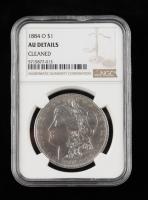 1884-O Morgan Silver Dollar (NGC AU Details) at PristineAuction.com