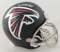 Kyle Pitts Signed Falcons Full-Size Helmet (Beckett Hologram) (See Description) at PristineAuction.com