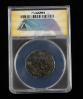 Domitian (A.D. 81-96) Roman Empire AE Dupondius, Rome Mint Ancient Coin (ANACS F15) at PristineAuction.com