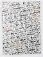 2021 Fiji Marvel: Black Panther Shaped 2oz .999 Fine Silver Coin at PristineAuction.com